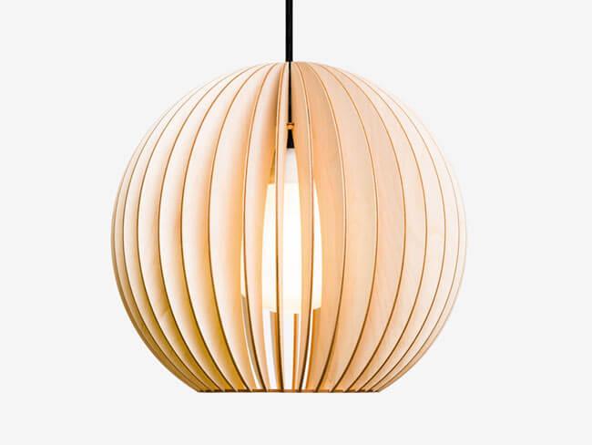 Holzlampe AION