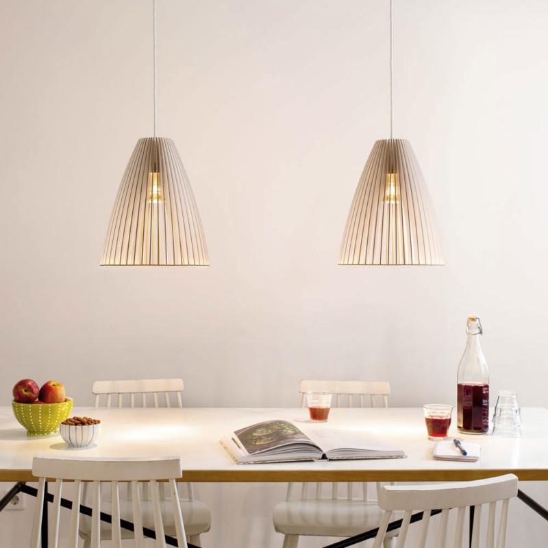 pendant TEIA dining table by IUMI DESIGN