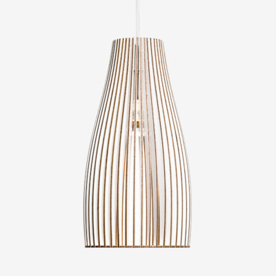 Wooden hanging lamp ENA L