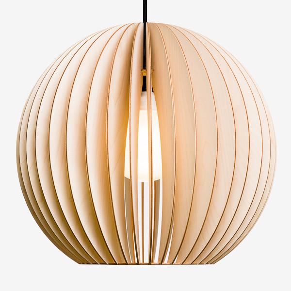 Lampe aus Holz AION XL